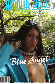 Girl in blue coatee